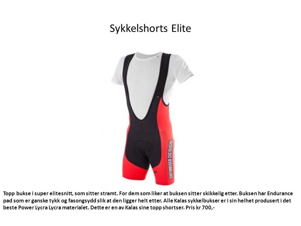Sykkelshorts Elite Topp bukse i super elitesnitt, som sitter stramt.