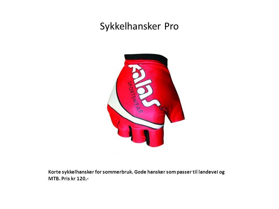 Sykkelhansker Pro Korte sykkelhansker for sommerbruk.