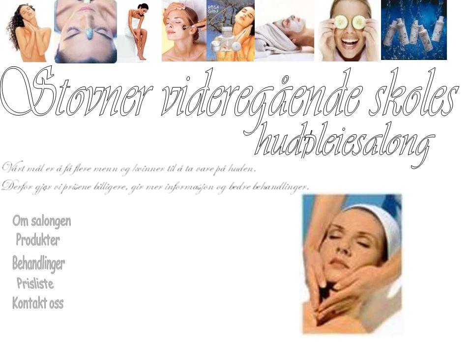 Stovner videregående hudpleie startet høsten 1979.