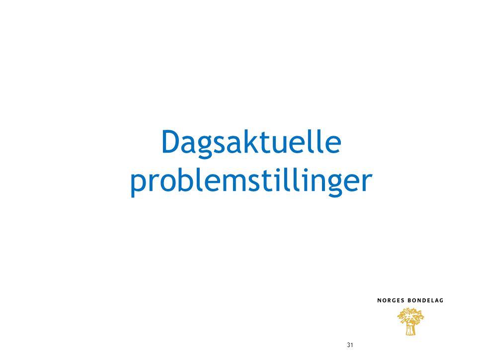 Dagsaktuelle problemstillinger 31