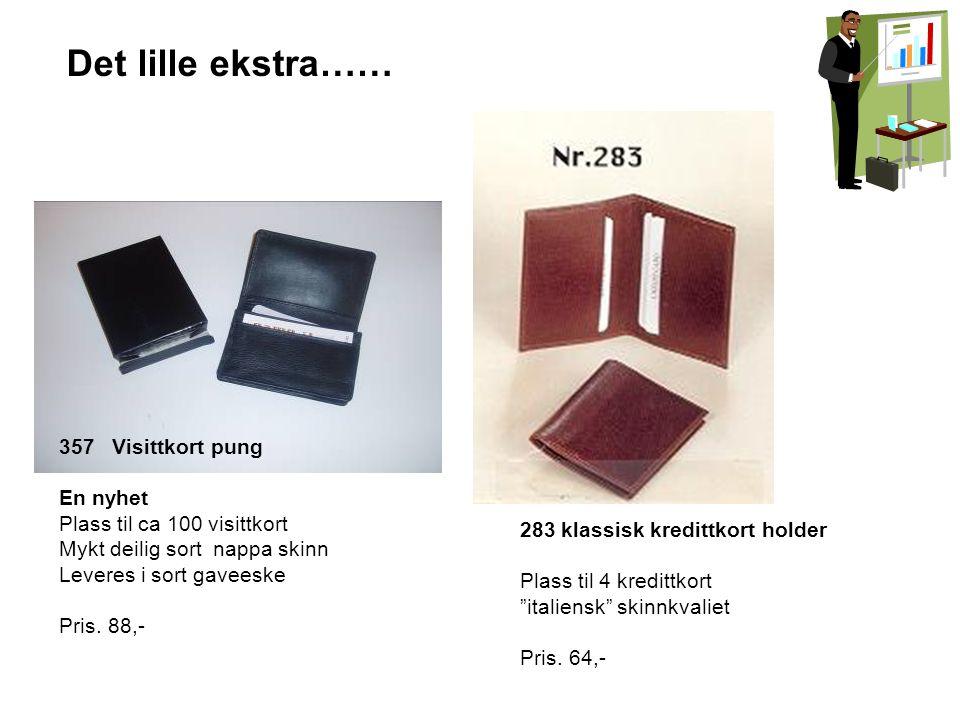 6016 B Klassisk skinnveske Mange rom Pris kr.560,- (Begrenset tilgang) Partivarer.