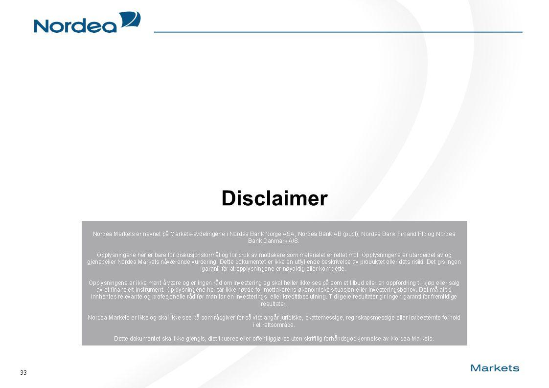 33 Disclaimer