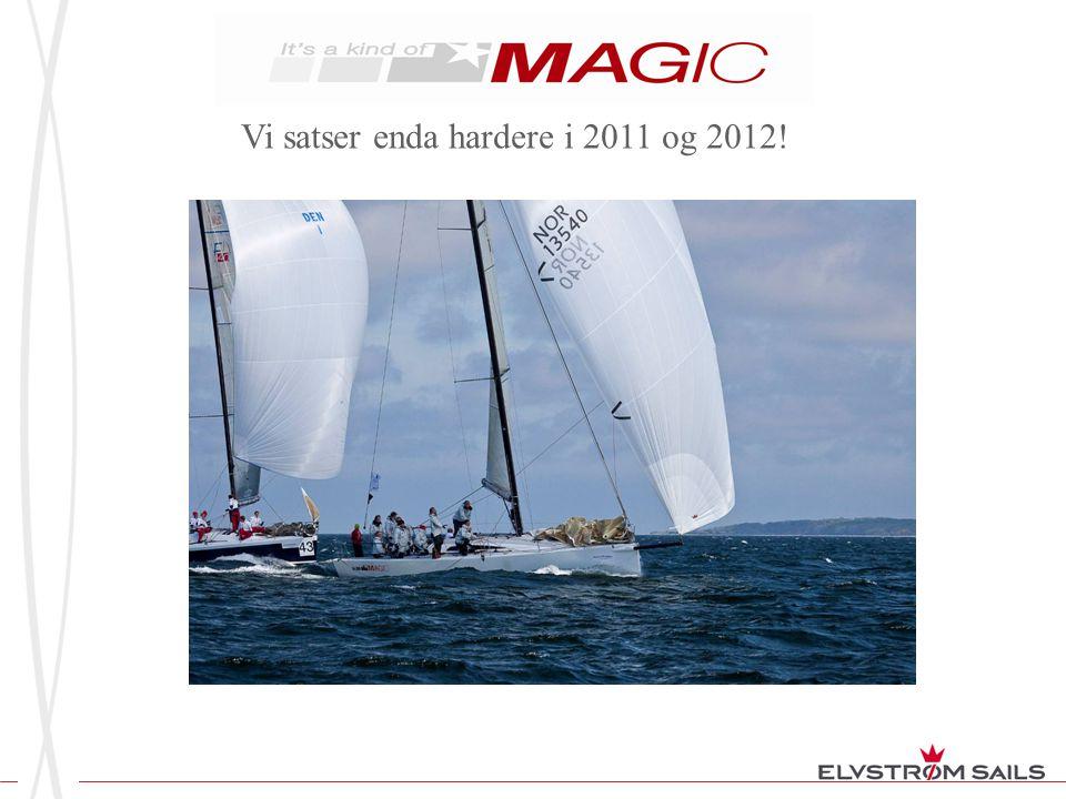 Vi satser enda hardere i 2011 og 2012!