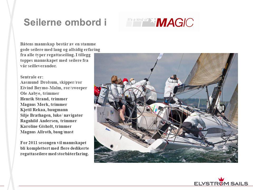 Seilerne ombord i Båtens mannskap består av en stamme gode seilere med lang og allsidig erfaring fra alle typer regattaseiling. I tillegg toppes manns
