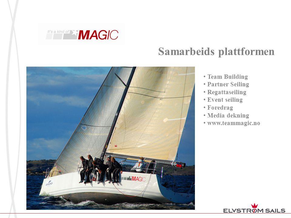 Samarbeids plattformen • Team Building • Partner Seiling • Regattaseiling • Event seiling • Foredrag • Media dekning • www.teammagic.no