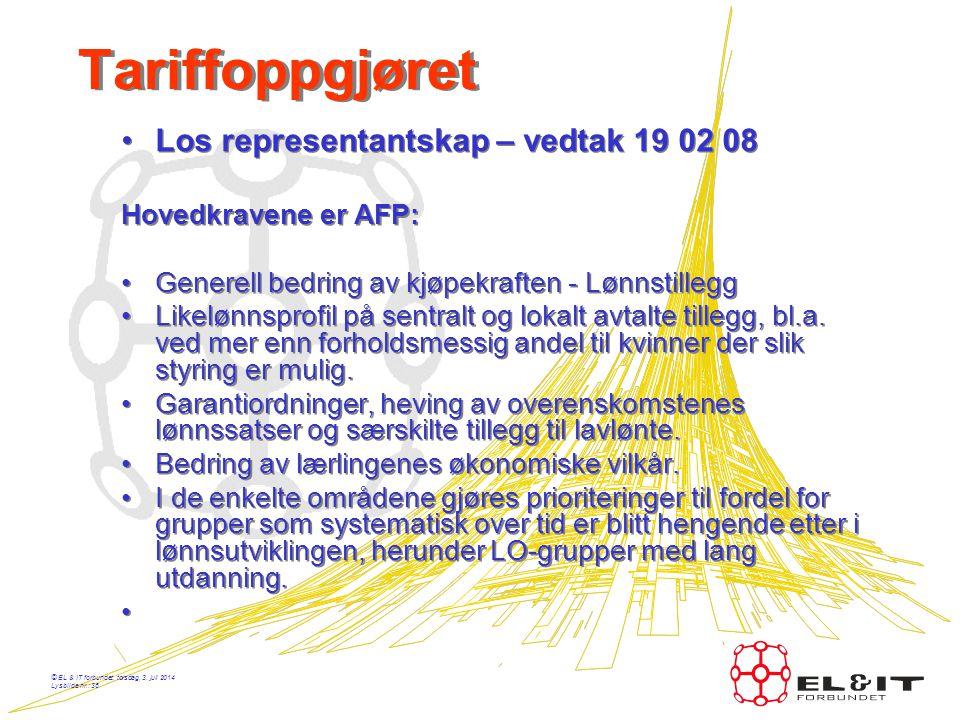 © EL & IT forbundet, torsdag, 3. juli 2014 Lysbilde nr.: 35