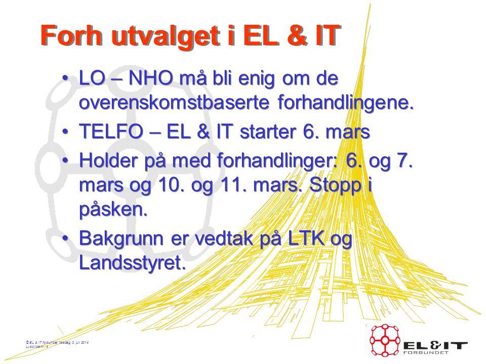 © EL & IT forbundet, torsdag, 3. juli 2014 Lysbilde nr.: 3 Innledning årsmøte EL & IT Klubben Fabricom 13. mars 2008 John Helge Kallevik 13. mars 2008