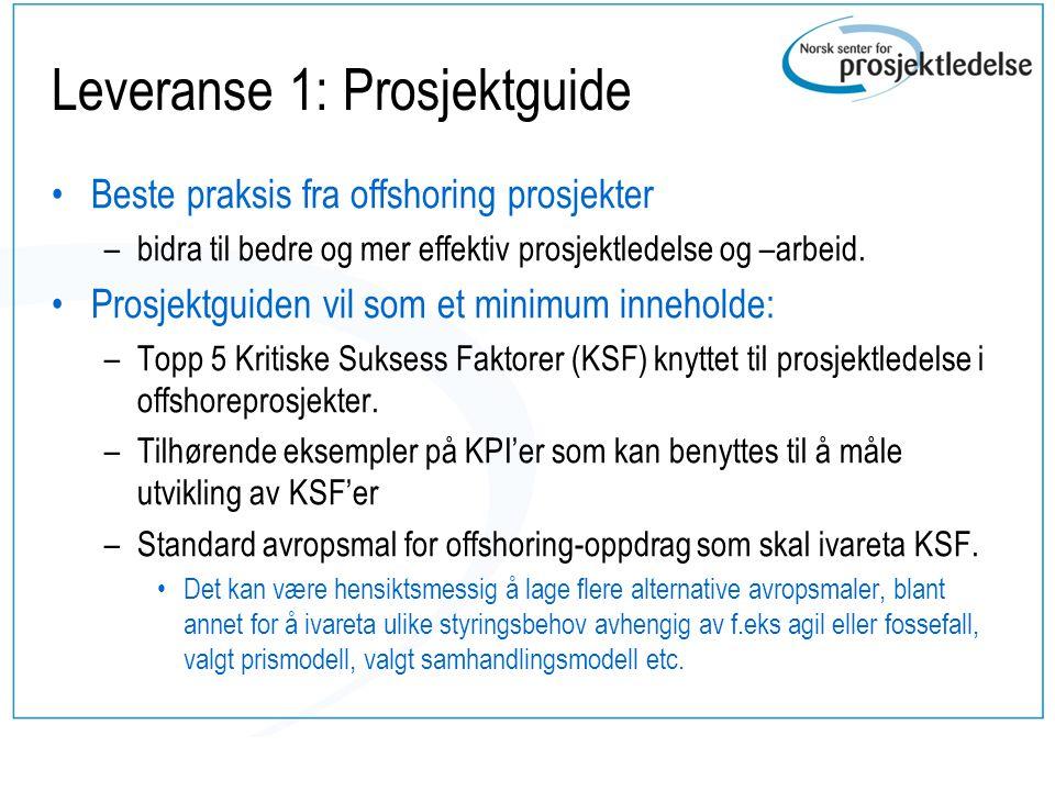 Leveranse 2 •En populærvitenskapelig publikasjon •Foredrag på konferanser og temadager •Artikler i norsk media.
