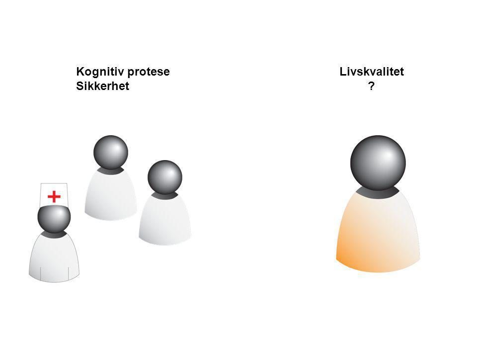 Kognitiv protese Sikkerhet Livskvalitet ?