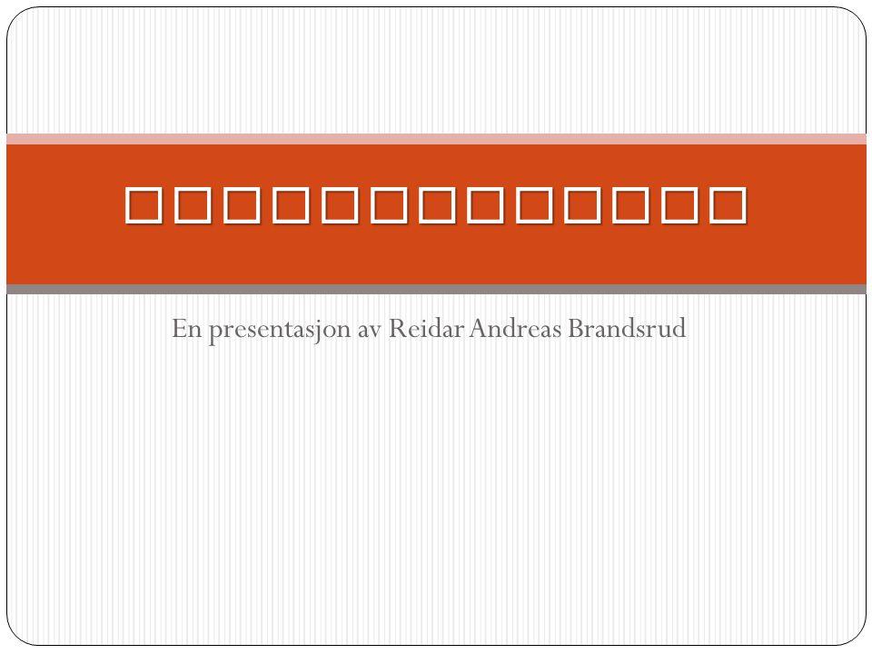En presentasjon av Reidar Andreas Brandsrud Stirlingmotor