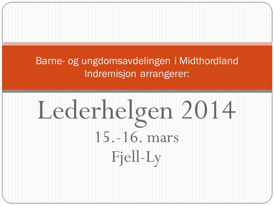 Lederhelgen 2014 15.-16.