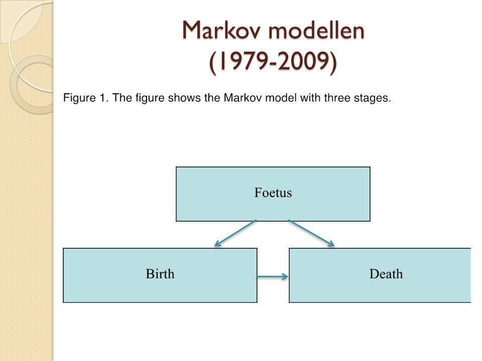 Markov modellen (1979-2009)