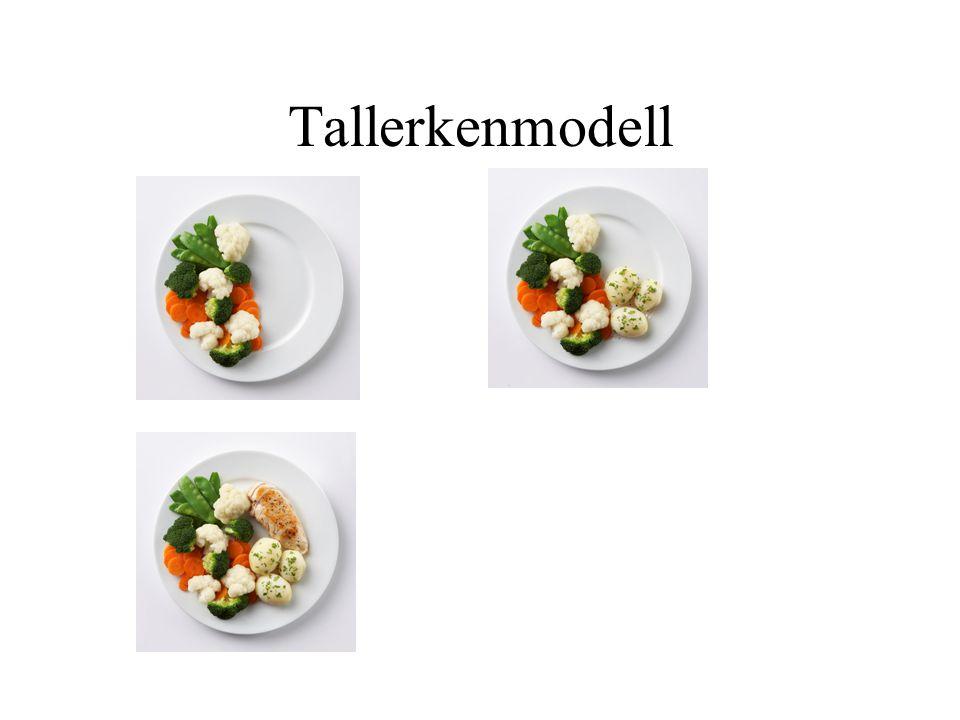 Tallerkenmodell