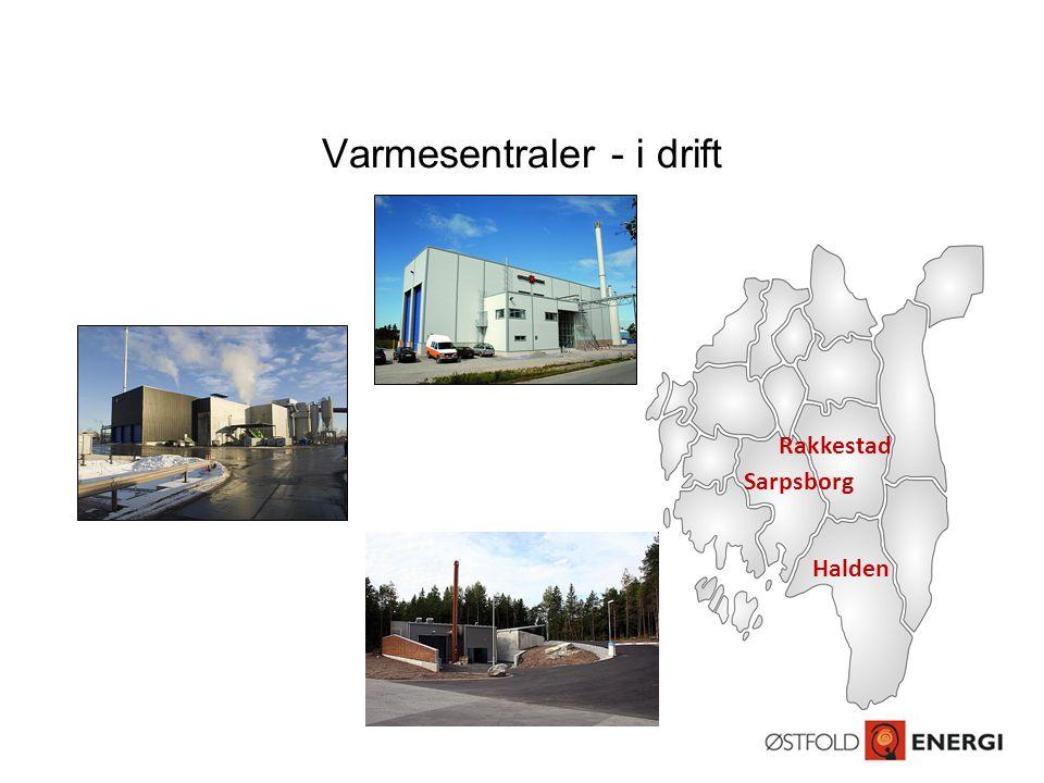 Varmesentraler - i drift Sarpsborg Rakkestad Halden