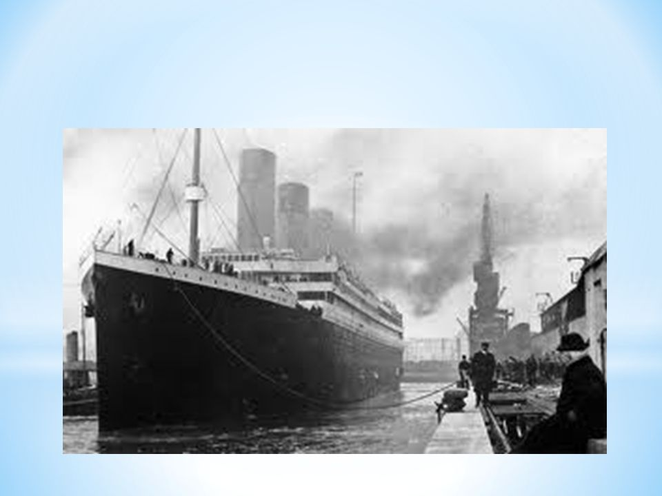 * Titanics konstruktører hadde tilsynelatende stor tro på at det er størrelsen det kommer an på , og ble konstruert deretter.