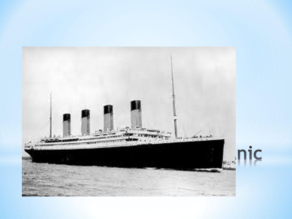 * Titanic var 269 meter lang, lengre enn flere av de høyeste bygningene i verden på den tiden.