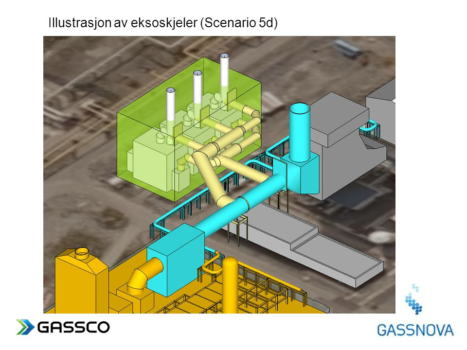 www.gassco.no Illustrasjon av eksoskjeler (Scenario 5d)