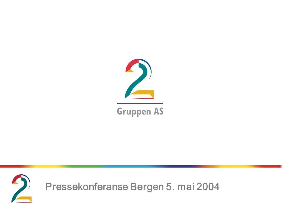 Pressekonferanse Bergen 5. mai 2004