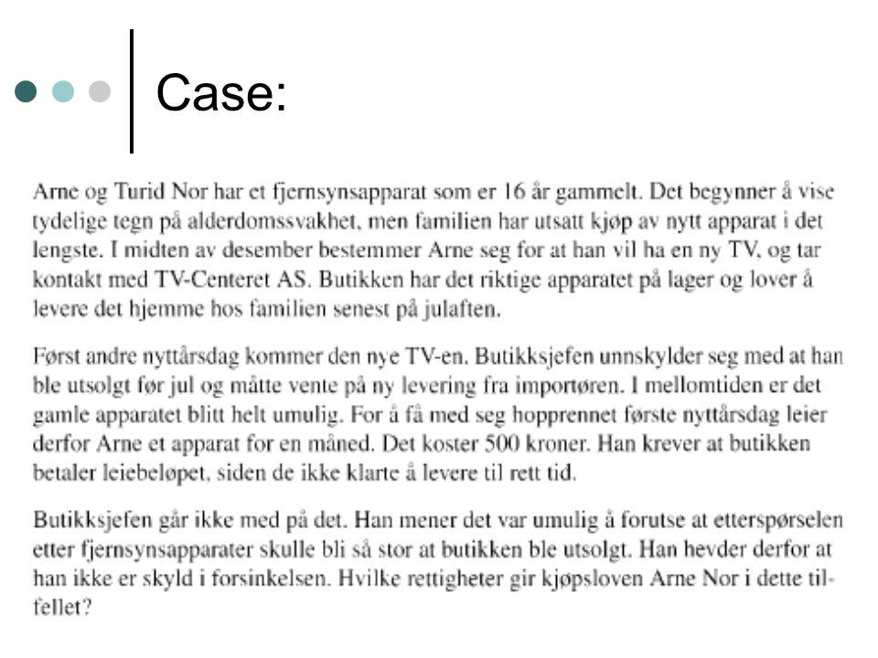 Case: