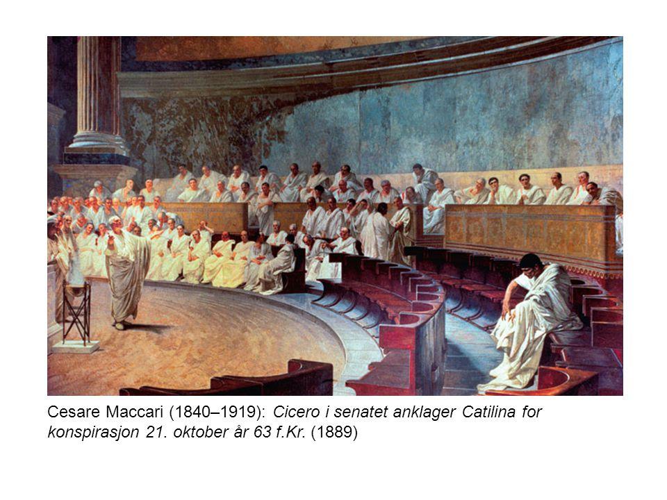 Antikken •Frie menn hadde rett og plikt til å ta ordet i offentlige sammenhenger.