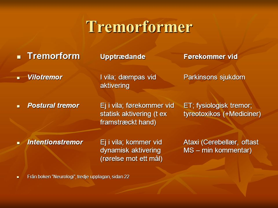  Louis ED.Fascinating rhythm: recognizing and treating tremor  The movement disorder society.