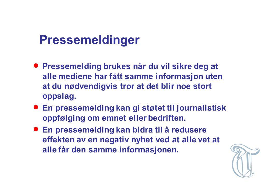 - rettigheter og muligheter  Pressens faglige utvalg er ingen domstol  Vær Varsom-plakaten er ingen lov  Norsk lovs injurieparagraf er omtrent det eneste rettsvern overfor mediene