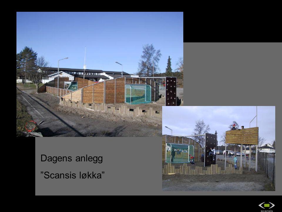 """Dagens anlegg """"Scansis løkka"""" OS2 IndustriDesign as"""