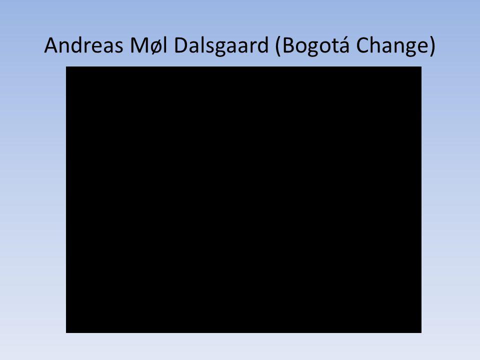 Andreas Møl Dalsgaard (Bogotá Change)