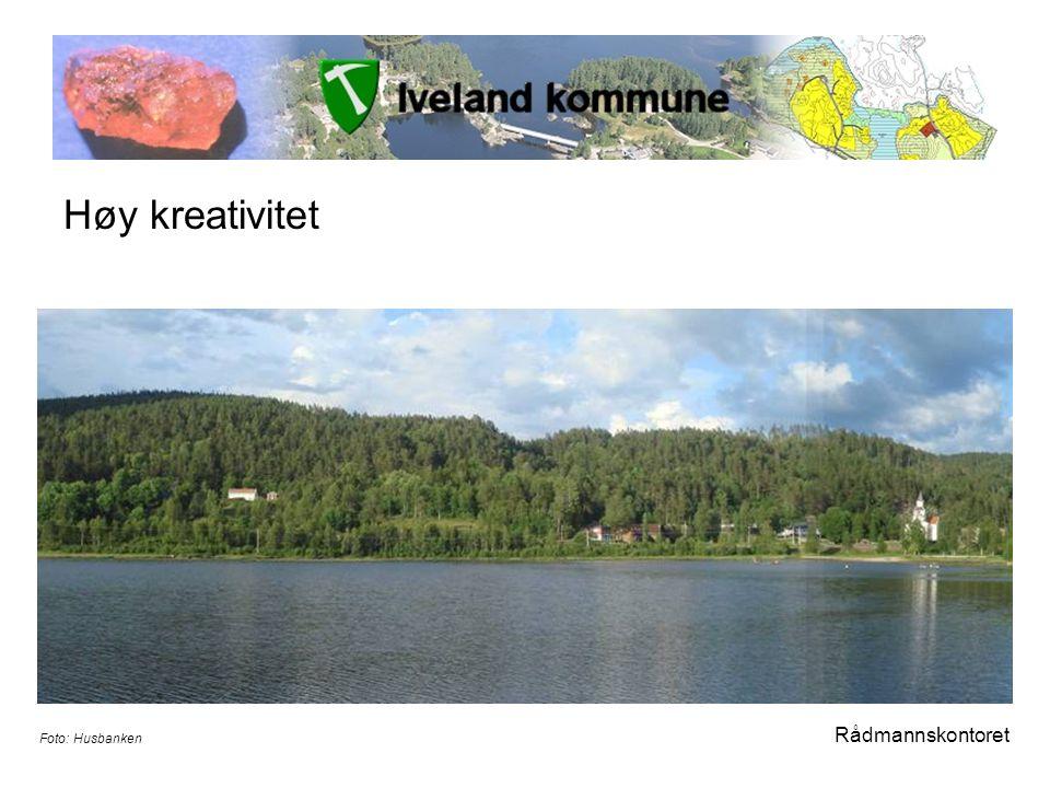 Høy kreativitet Rådmannskontoret Foto: Husbanken