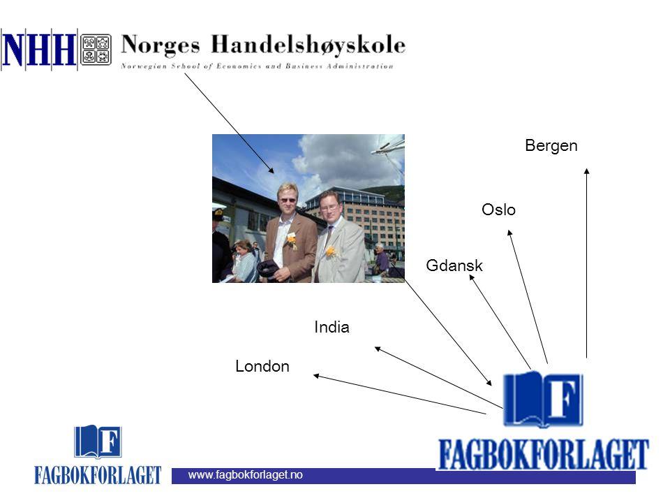 www.fagbokforlaget.no Bergen Oslo Gdansk India London