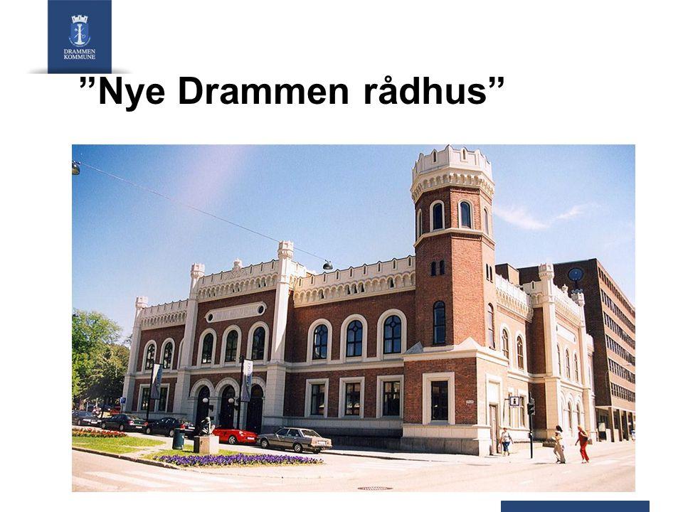 """Nye Drammen rådhus"""