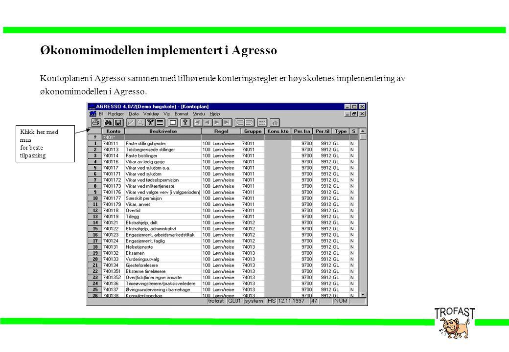 Overføring av lønnsdata fra SLP (Innlesning fra forsystemer) •Data leses inn fra fil (fra SDS) •Kontroller ved innlesning: –sammenhengskontroll –kodekomplementering •Feil kan korrigeres direkte i skjermbildet Ajourhold forsystemtransaksjoner •Transaksjoner med feil posteres på feilkonto (9999)