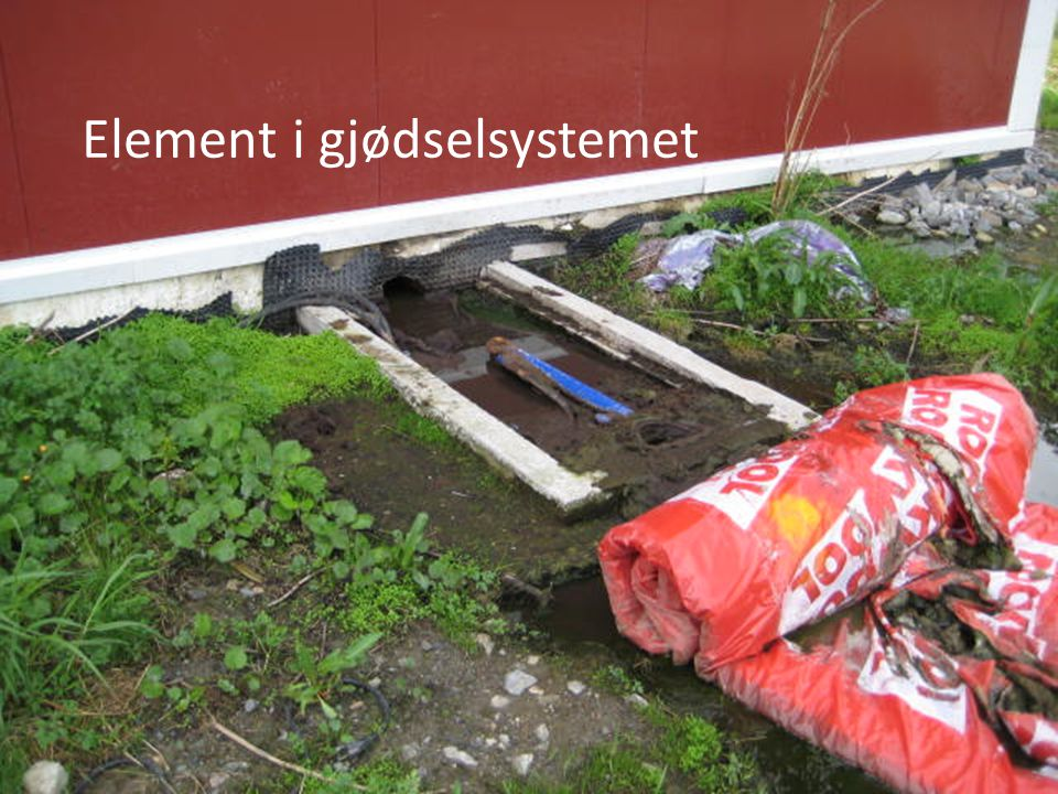 Element i gjødselsystemet