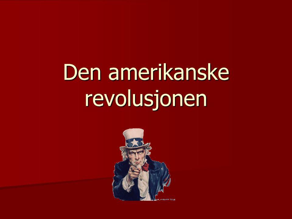 Den amerikanske revolusjonen