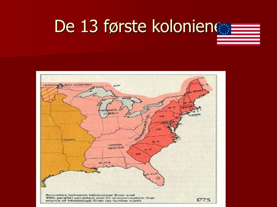 De 13 første koloniene