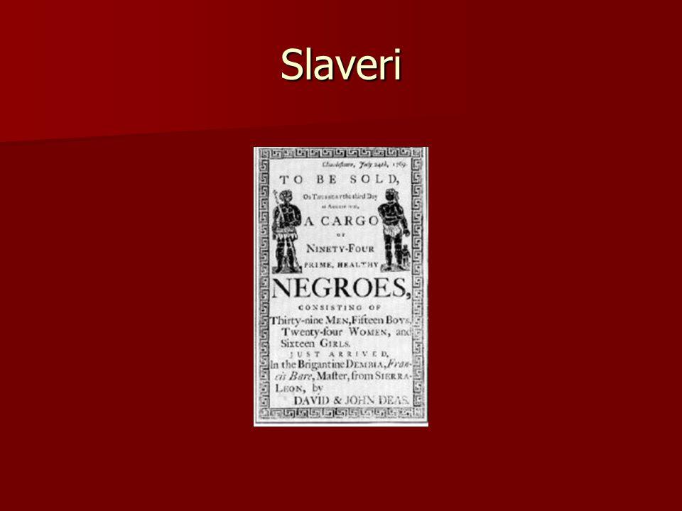 Slaveri