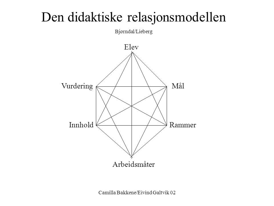 Camilla Bakkene/Eivind Galtvik 02 Hva er en læringsarena? •En arena der læring foregår •En arena som er tilpasset hver enkelt elev •Ulike elever kreve