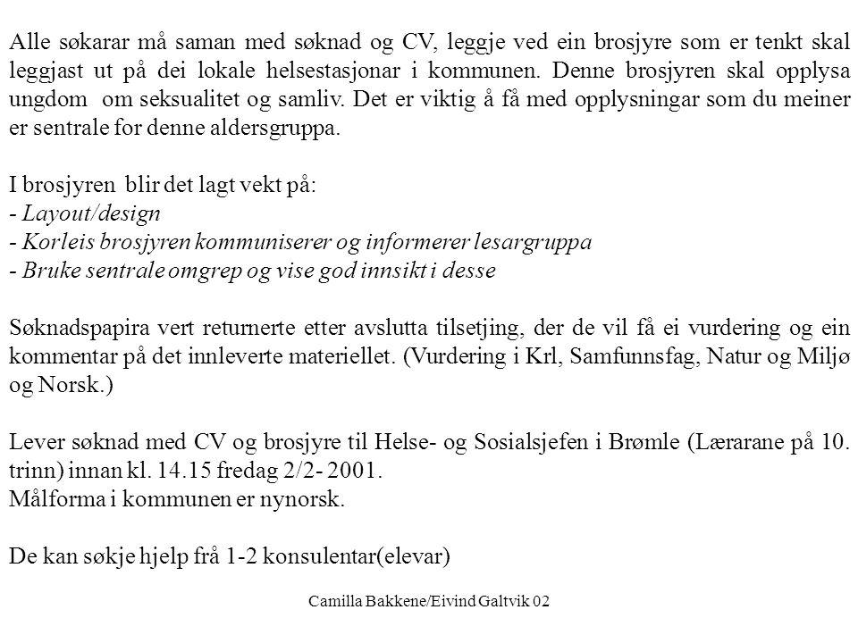 Brømle Kommune Helse- og Sosialetaten Brømle kommune søker helsesyster som har evne og vilje til å satse på utvikling og nytenking. Vi kan tilby ein v