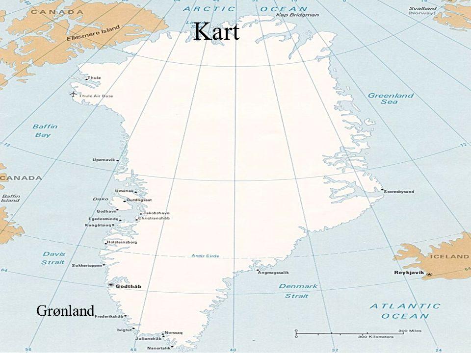 kart Grønland Kart