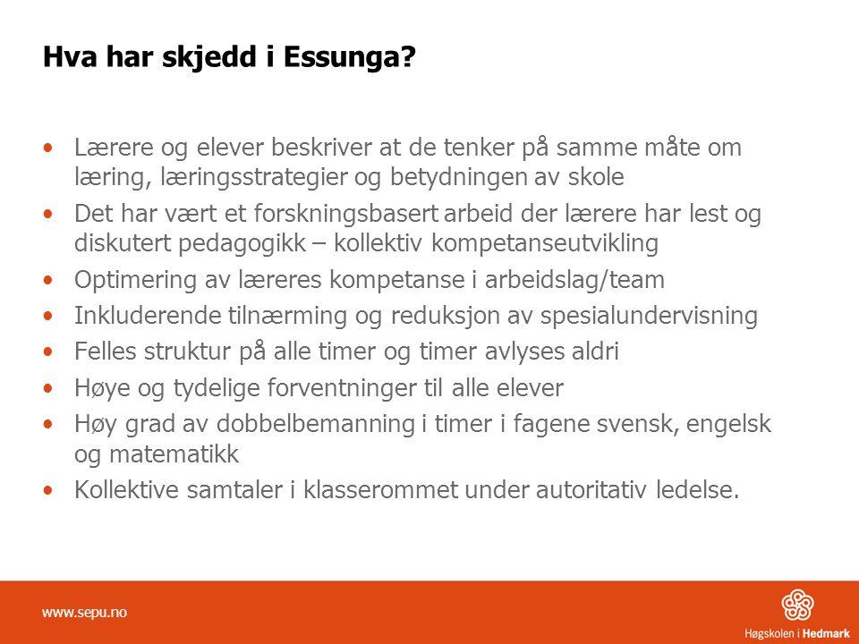 Hva har skjedd i Essunga.
