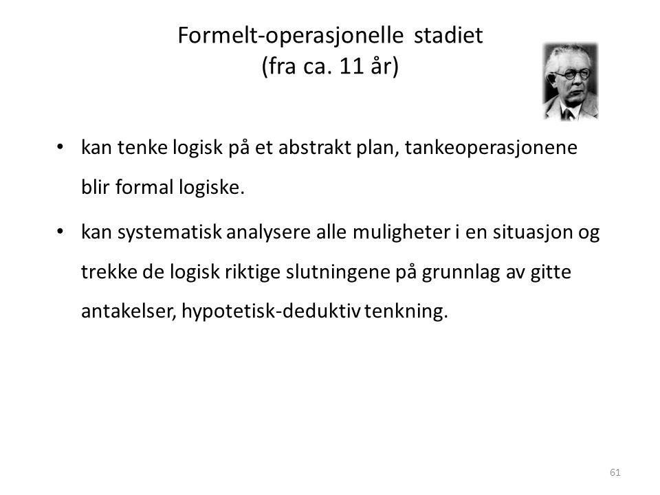 Magne Jensen 200861 Formelt-operasjonelle stadiet (fra ca.