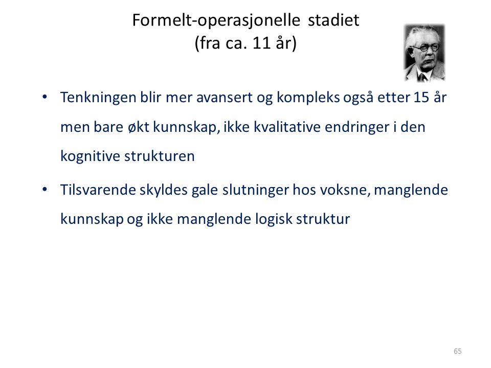 Magne Jensen 200865 Formelt-operasjonelle stadiet (fra ca.