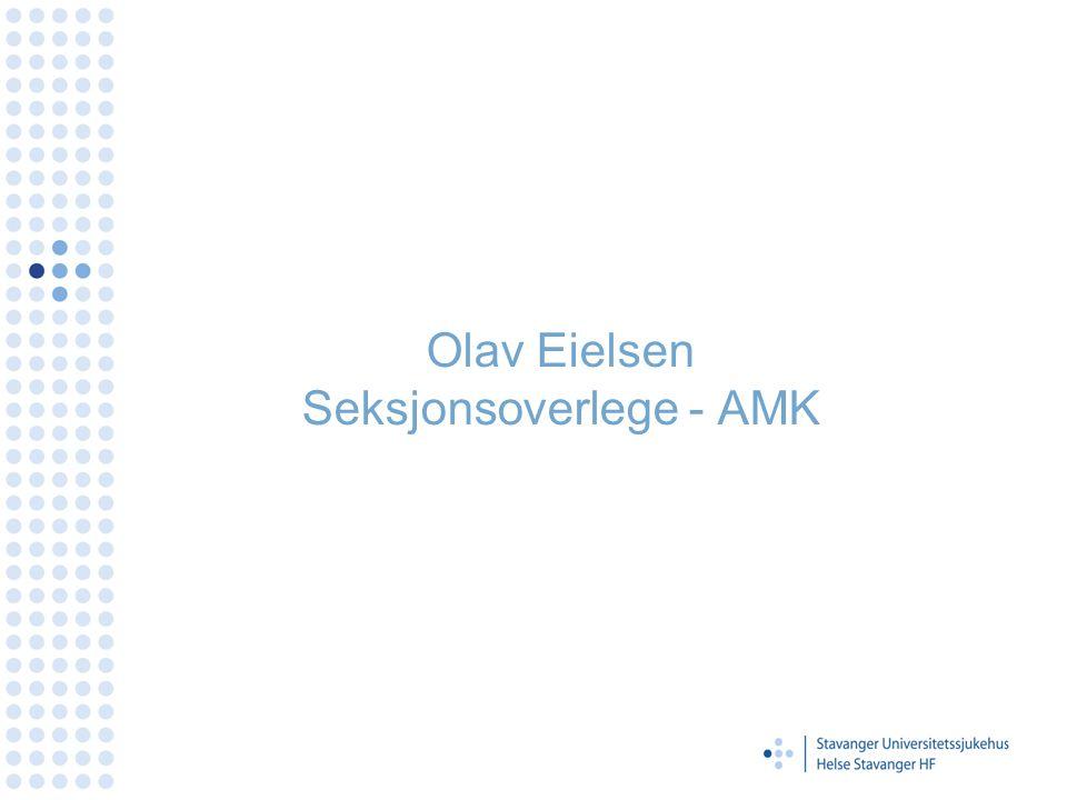 Olav Eielsen Seksjonsoverlege - AMK