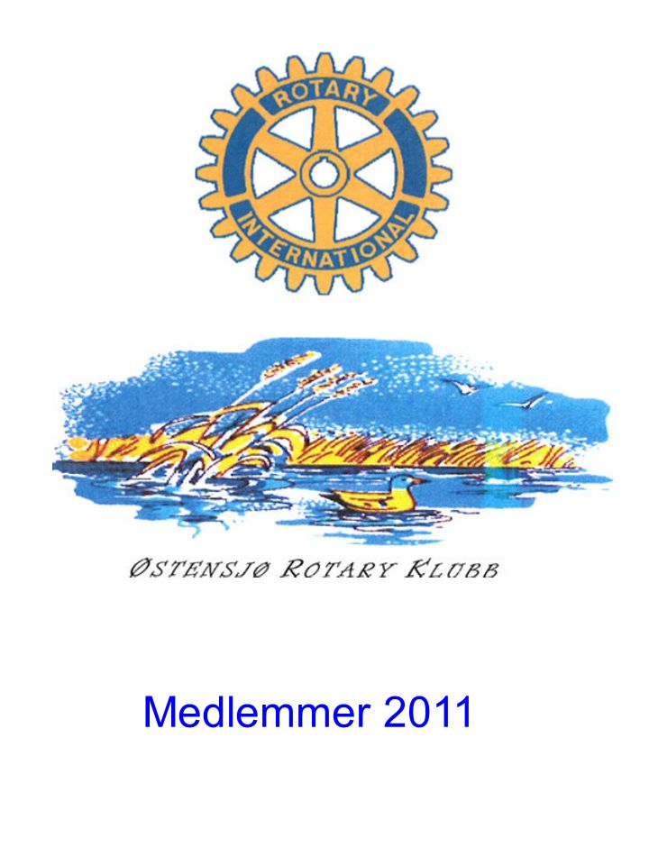 Medlemsoversikt – Østensjø Rotary Klubb Rolf B.