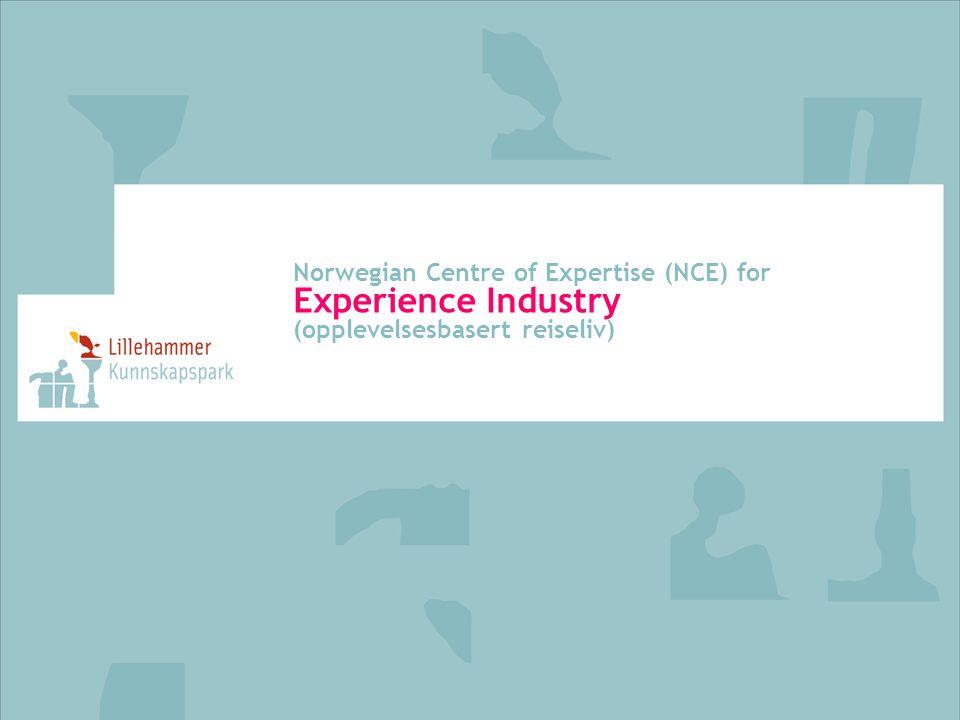 Norwegian Centre of Expertise (NCE) for Experience Industry (opplevelsesbasert reiseliv)
