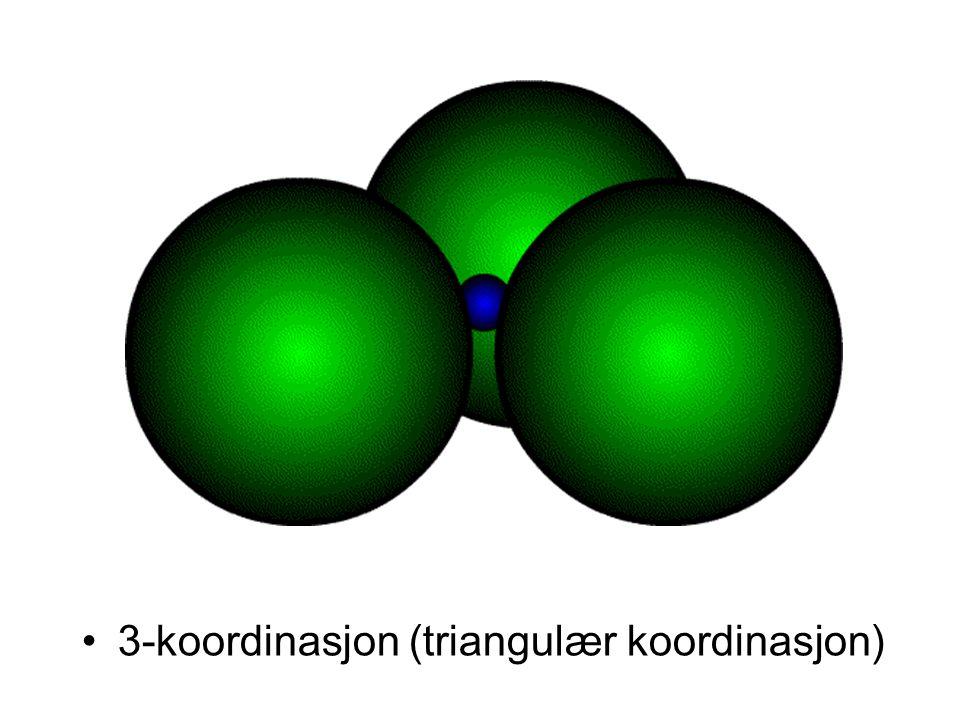 •3-koordinasjon (triangulær koordinasjon)