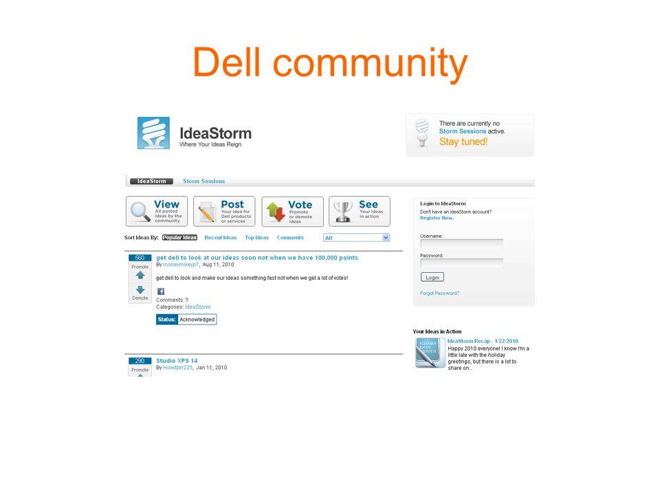 Dell community