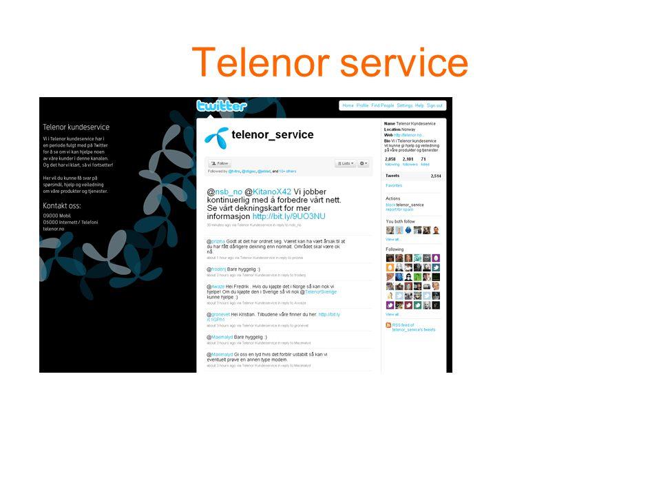 Telenor service