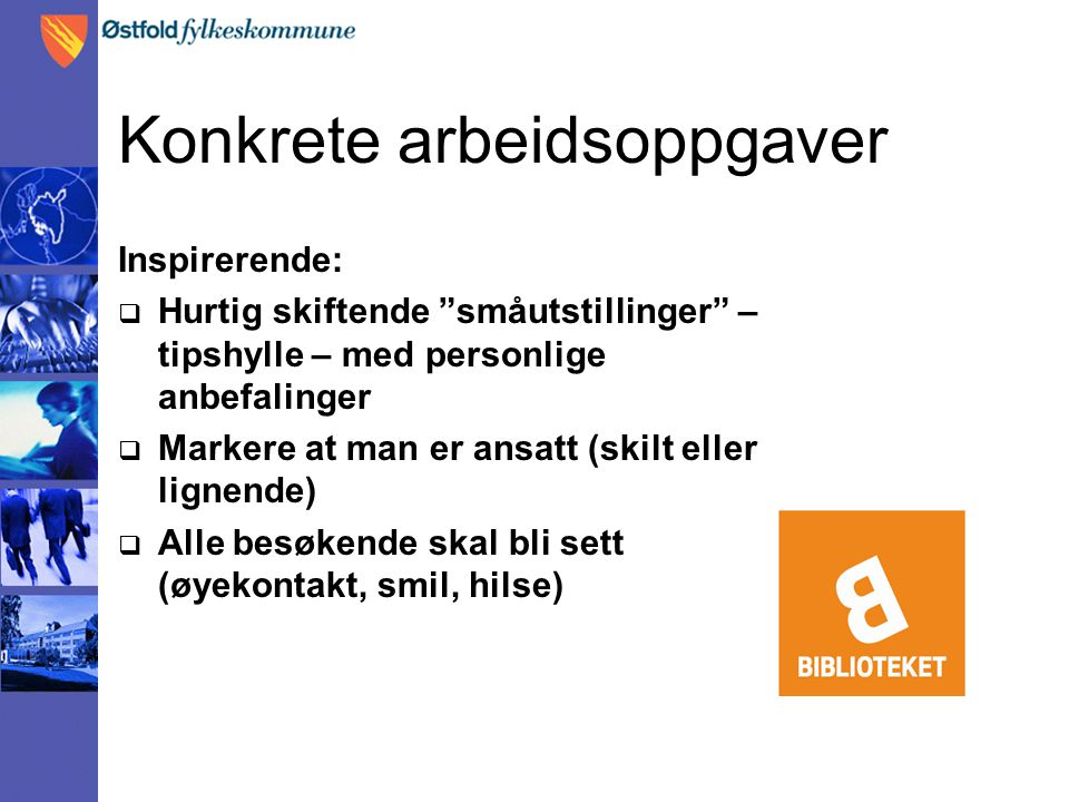 Høstkampanjen  Tema: presentasjon av faglitteratur  Virkemidler: plakater og bannere, webbanner, bibin.no  Utstillinger og arrangementer i bibliotekene  Annonser.