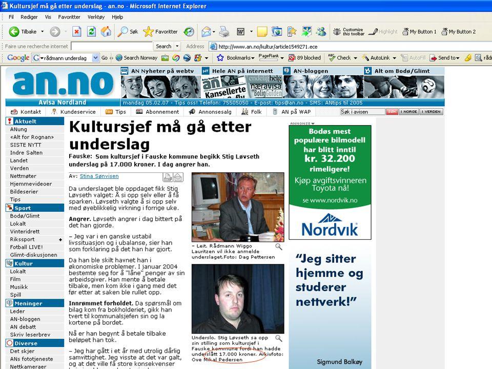 Hvordan framstår kommunene som eierne? Kilde: n24.no og kommunal-rapport.no